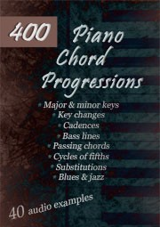 300 Piano Chord Progressions ebook cover