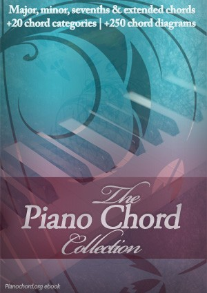 The Piano Chord Collection Ebook ebook cover